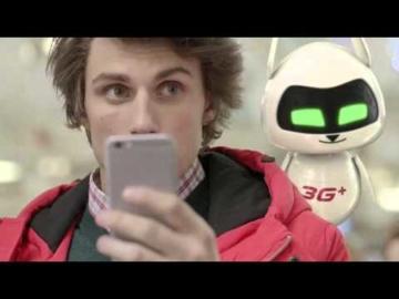 "Рекламный видеоролик ""3G Smartphone Airport"""